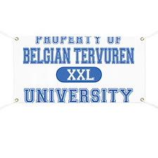 Belgian Tervuren U. Banner