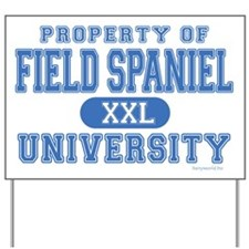 Field Spaniel U. Yard Sign