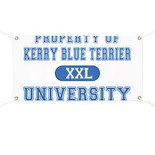 Kerry Blue Terrier U. Banner