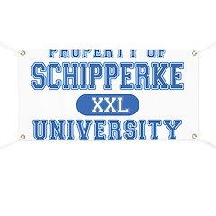 Schipperke U. Banner