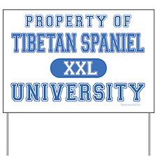 Tibetan Spaniel U. Yard Sign