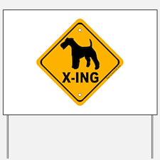 T.F.T. X-ing Yard Sign