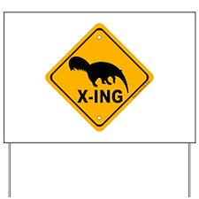Anteater X-ing Yard Sign
