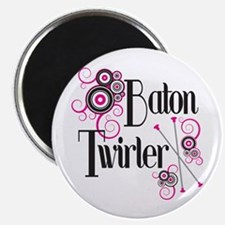 Baton Twirler Magnet