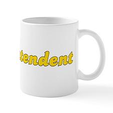 Retro Superintend.. (Gold) Mug