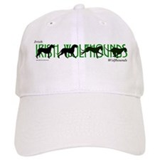 Irish Wolfhounds in motion Baseball Cap