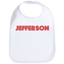 Retro Jefferson (Red) Bib
