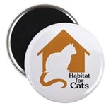 Habitat For Cats Magnet
