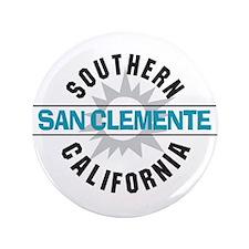 "San Clemente California 3.5"" Button (100 pack)"