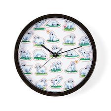 Cool Vegeterian Wall Clock