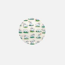 Unique Vegeterian Mini Button