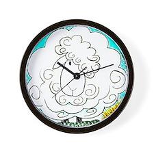 Unique Vegeterian Wall Clock