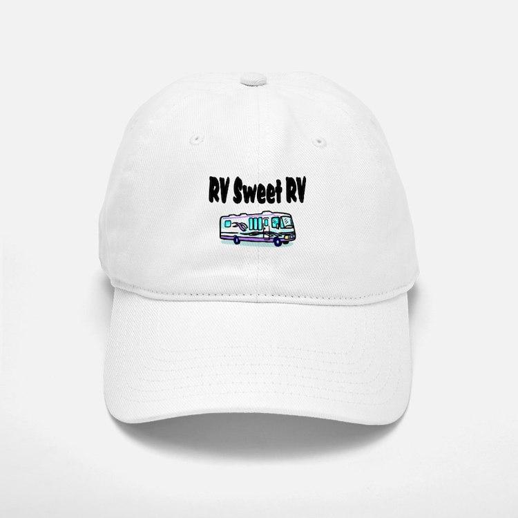 RV SWEET RV Baseball Baseball Cap