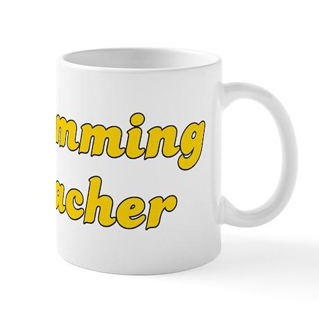 Retro Swimming Te.. (Gold) Mug