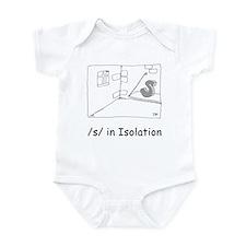 S in isolation Infant Bodysuit
