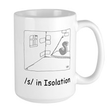 S in isolation Mug