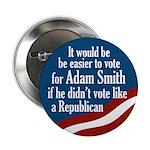 Adam Smith congressional campaign button