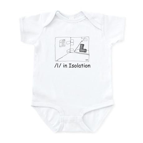 L in Isolation Infant Bodysuit