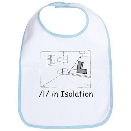L in Isolation Bib