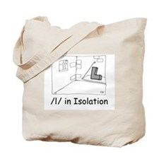 L in Isolation Tote Bag