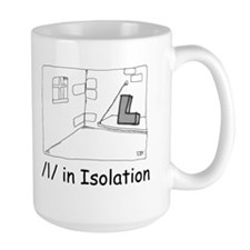 L in Isolation Mug