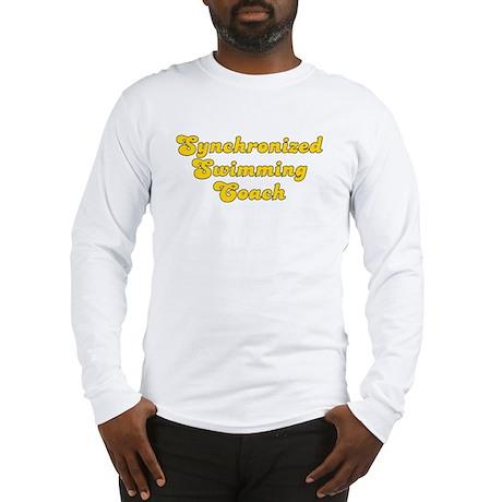 Retro Synchronize.. (Gold) Long Sleeve T-Shirt
