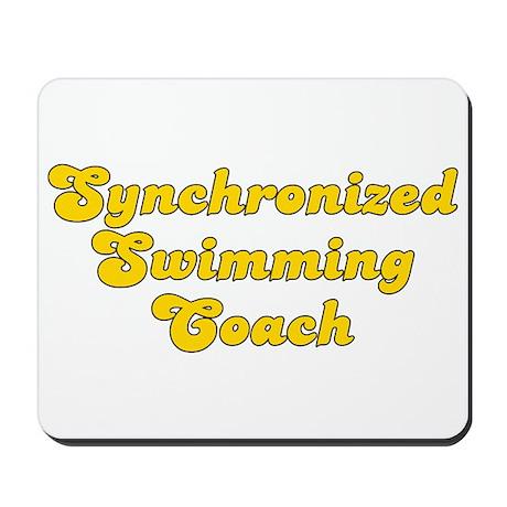 Retro Synchronize.. (Gold) Mousepad