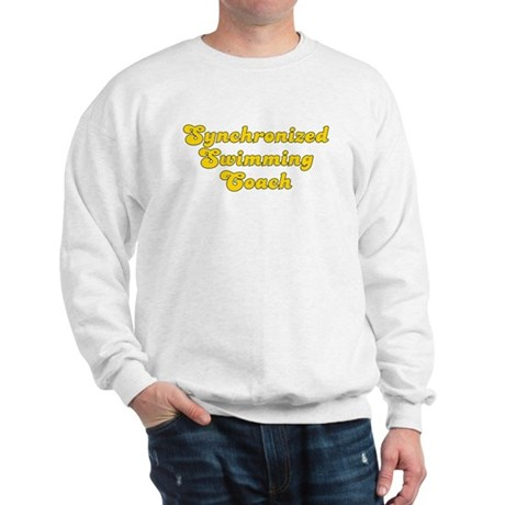 Retro Synchronize.. (Gold) Sweatshirt