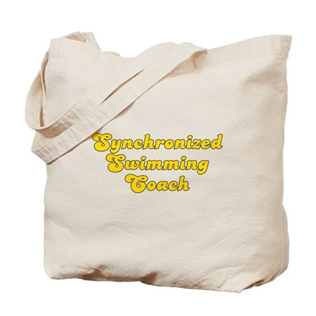 Retro Synchronize.. (Gold) Tote Bag