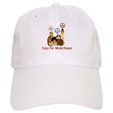 World Peace Cats Baseball Baseball Cap