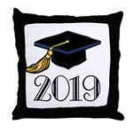 Classic 2019 Future Grad Throw Pillow