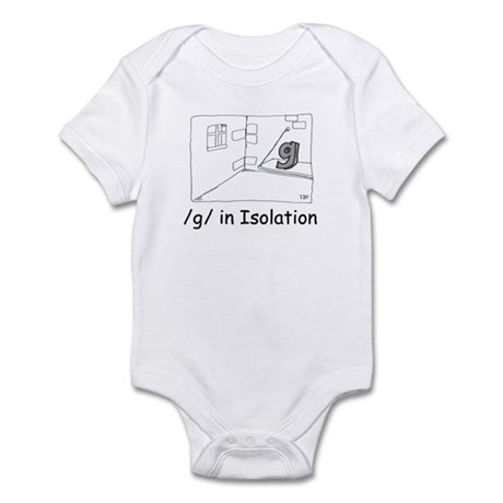 G in isolation Infant Bodysuit