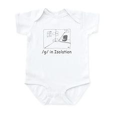 G in isolation Infant Bodysuit