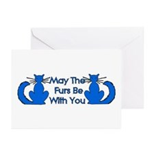 Furs Be With You Greeting Cards (Pk of 10)