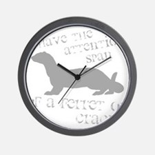 Attention Span of a Ferret on Wall Clock