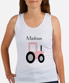 Madison - Pink Tractor Women's Tank Top