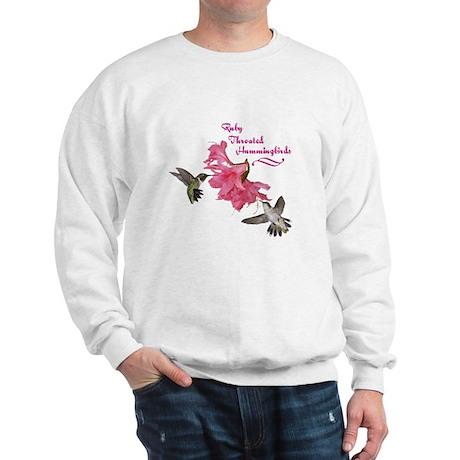 Ruby Throated Hummingbirds Sweatshirt