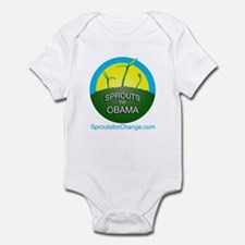 Sprouts for Obama Infant Bodysuit