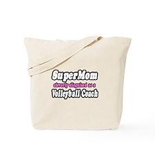 """SuperMom...Volleyball Coach"" Tote Bag"