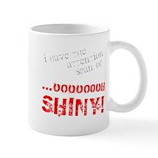 Shiny in Red Mug