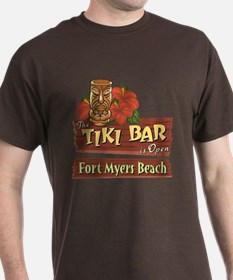 Fort Myers Beach Tiki Bar - T-Shirt