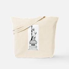 Hand Drawn Statue Of Liberty Tote Bag