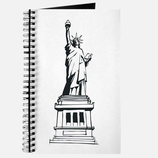 Hand Drawn Statue Of Liberty Journal