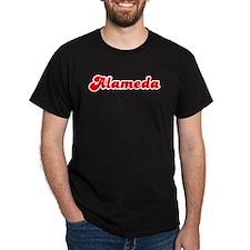 Retro Alameda (Red) T-Shirt