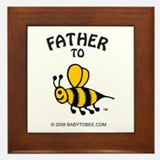 Cute Father Framed Tile