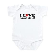 I Love Ragamuffins Infant Bodysuit