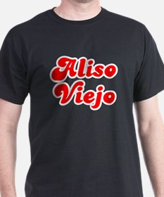 Retro Aliso Viejo (Red) T-Shirt