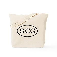 SCG Oval Tote Bag