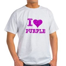 I Love Purple T-Shirt