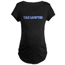 Retro Tax Lawyer (Blue) T-Shirt